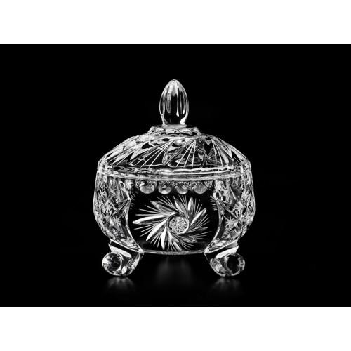 Cardinal Small Decorative Crystal Candy/Trinket Box