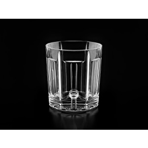 Margot Clear Crystal Whisky Glasses, Set of 6