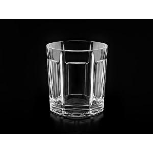Grace Clear Crystal Whisky Glasses/Tumblers, Set of 6