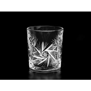 Cardinal Crystal Whisky Glasses/Tumblers, Set of 6
