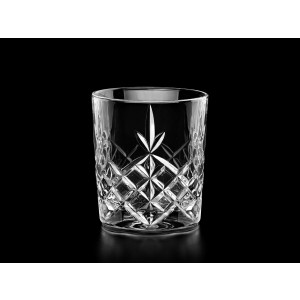 Timeless Crystal Whisky Glasses/Tumblers, Set of 6