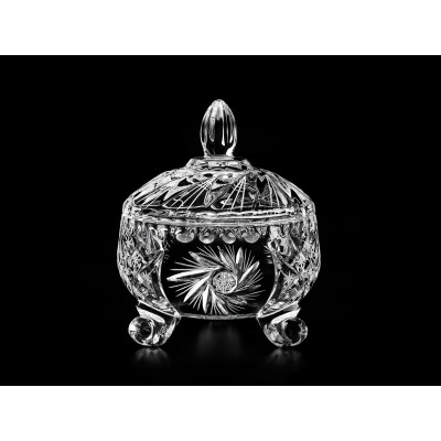 Cardinal Small Decorative Crystal Candy/Trinket Box